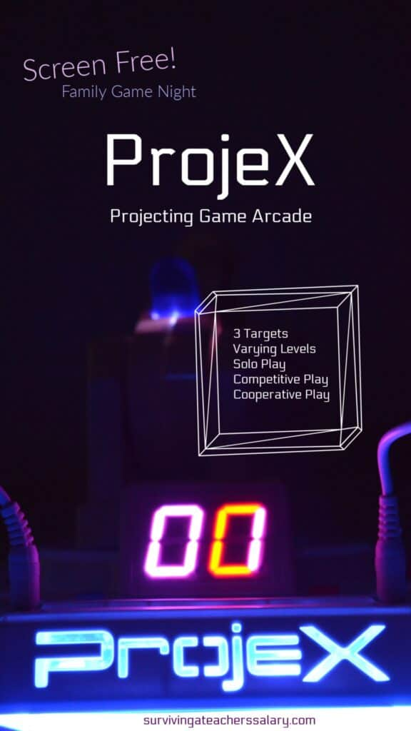 ProjeX Projecting Game Arcade Review