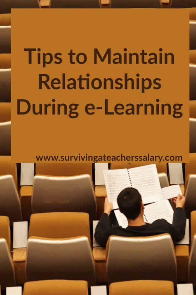 distance e-learning tips