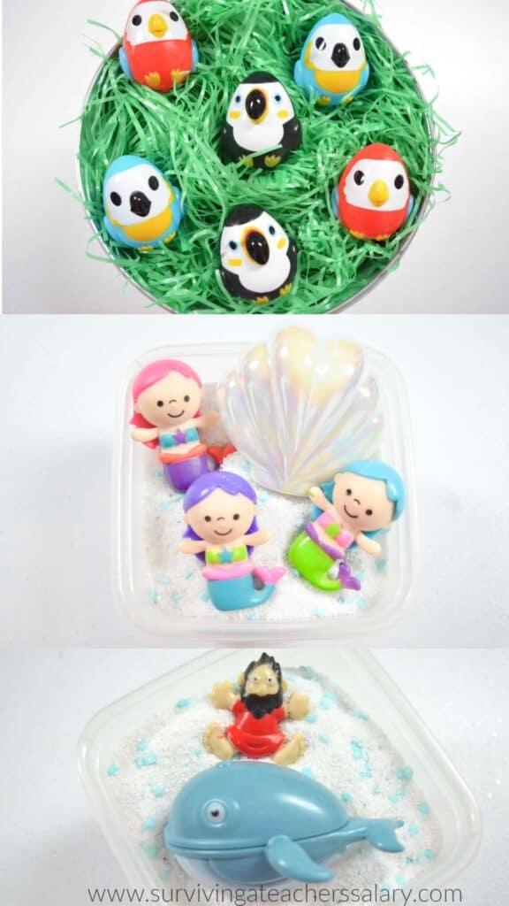 Easter Sensory Bin Ideas