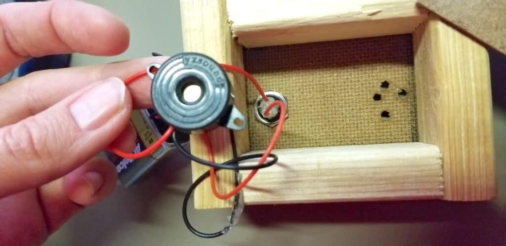 homemade morse code machine