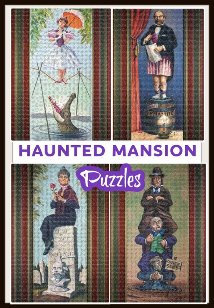haunted mansion puzzles