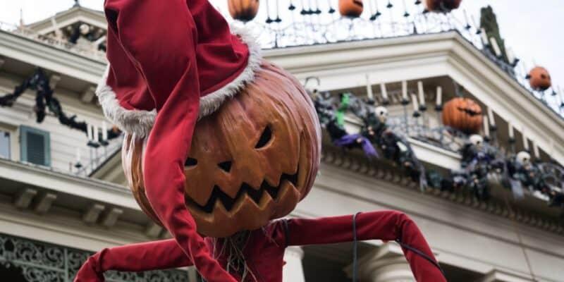 spooky christmas pumpkin disneyland