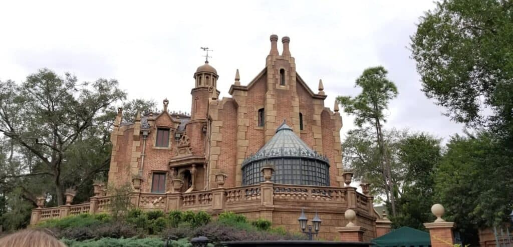 Haunted Mansion ride Disneyland