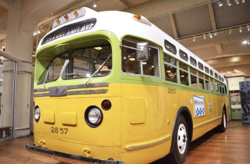 rosa parks bus montgomery