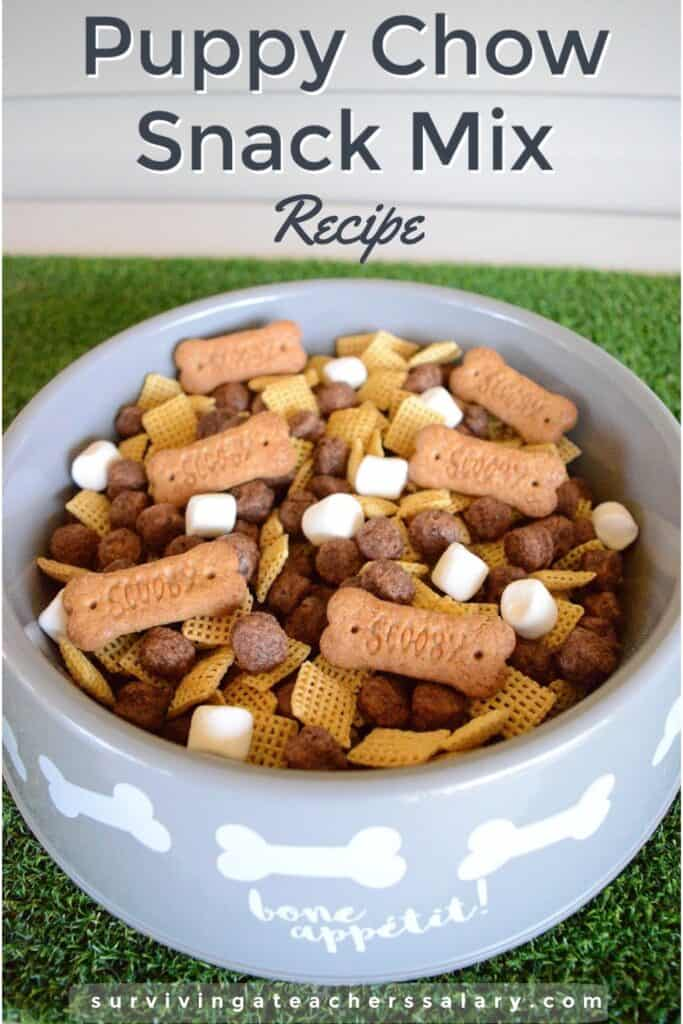 Puppy Chow Snack Mix Recipe Idea for Dog Lovers!