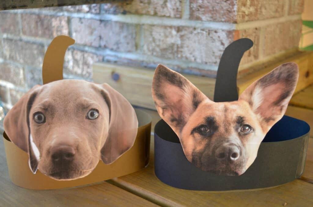 puppy dog headband craft for kids