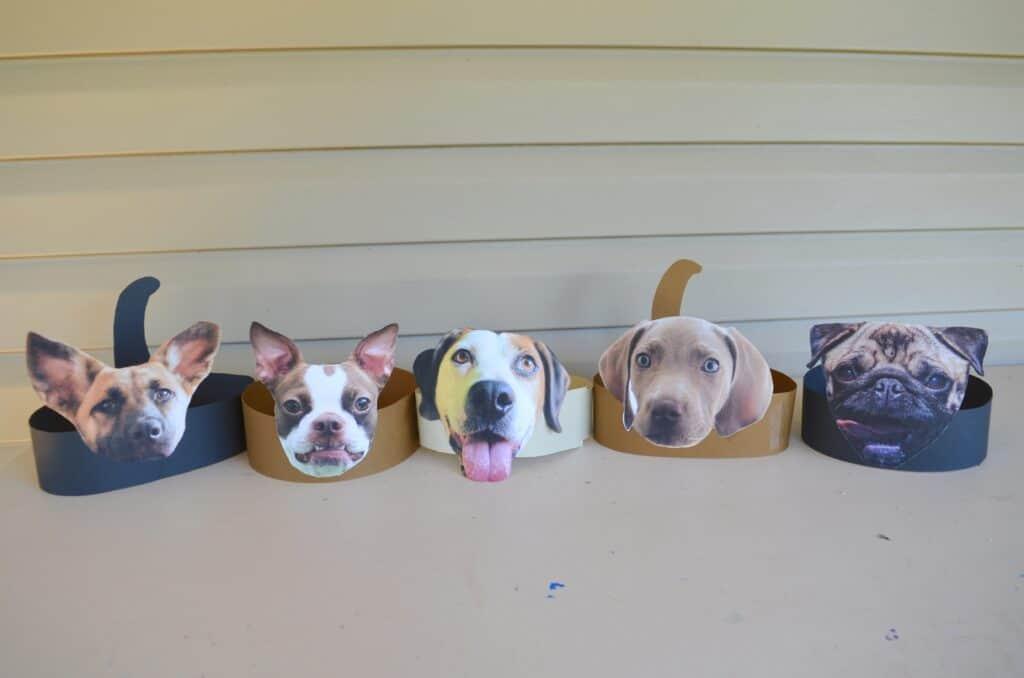 3d dog headband craft for kids