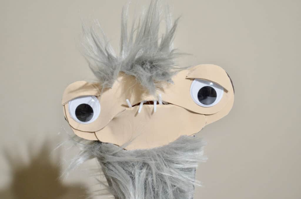 CLOD puppet from Earth to Ned