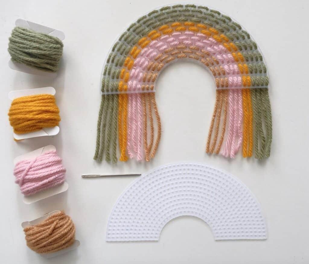 rainbow craft kit on etsy
