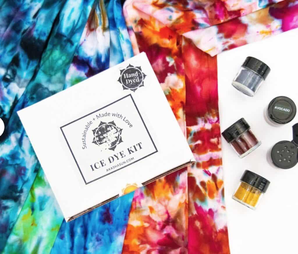 ice tie dye art kit