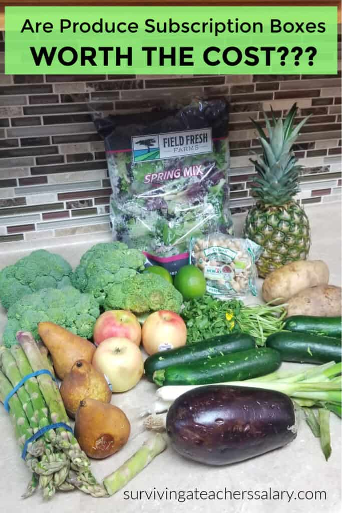 produce box subscription Imperfect Foods