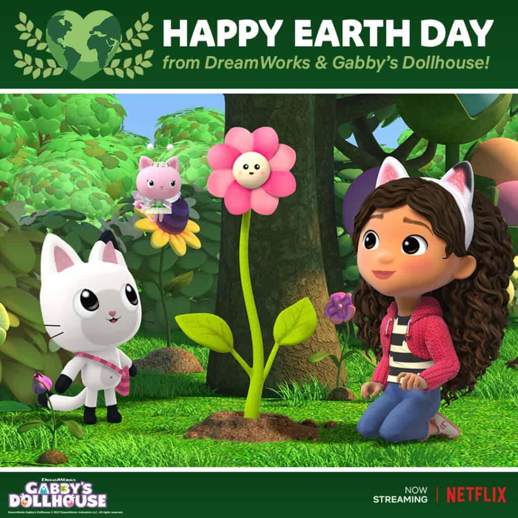 Gabby's Dollhouse Earth Day