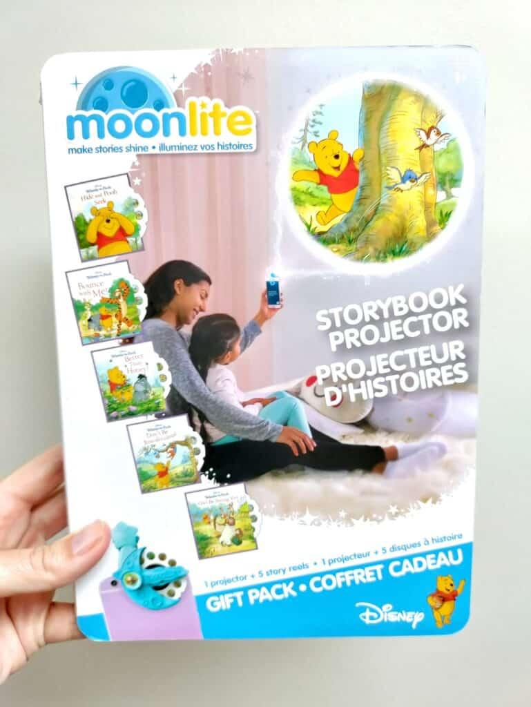 My Moonlite Projector Winnie the Pooh book set
