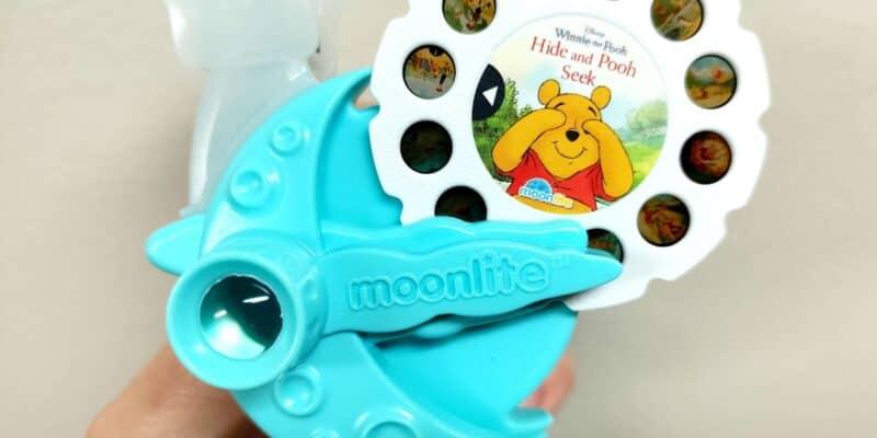 Winnie the Pooh disc Moonlite projector