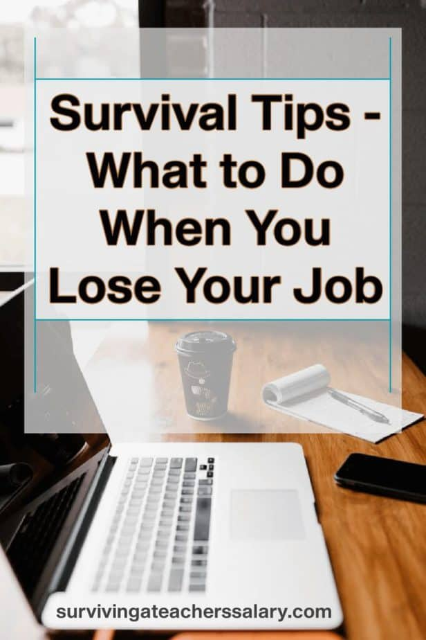 lost job survival tips
