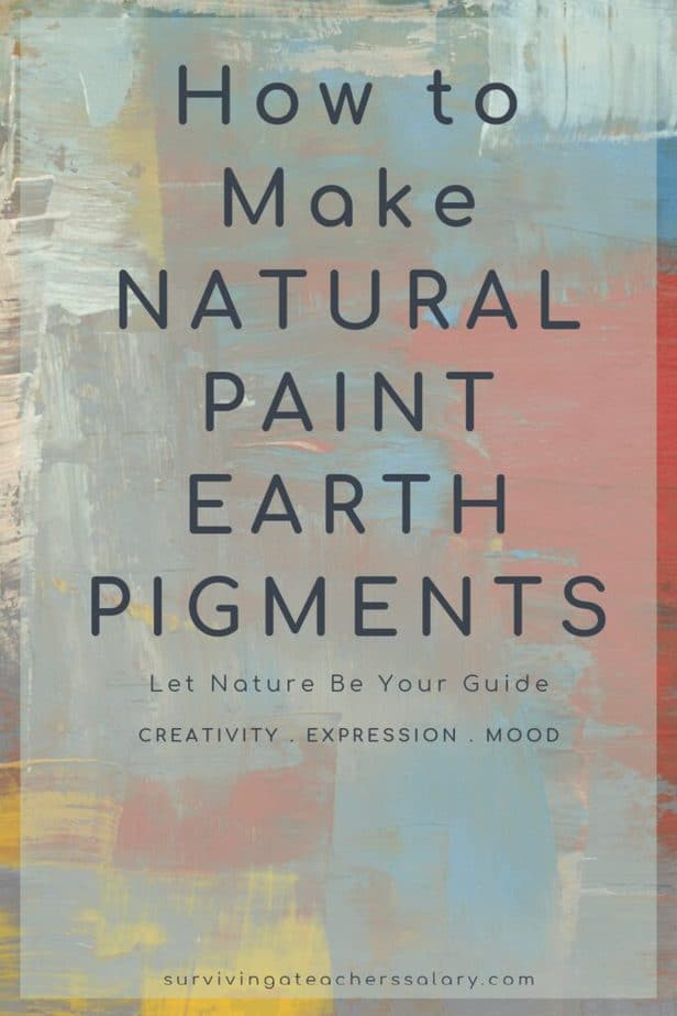 How to Make Natural Paint Earth Pigment from Nature